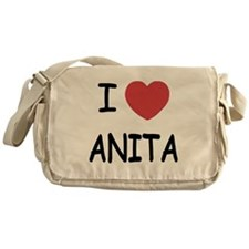 I heart Anita Messenger Bag