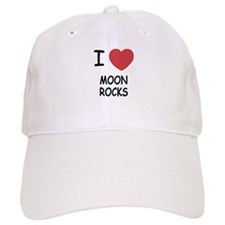 I heart Moon Rocks Baseball Cap