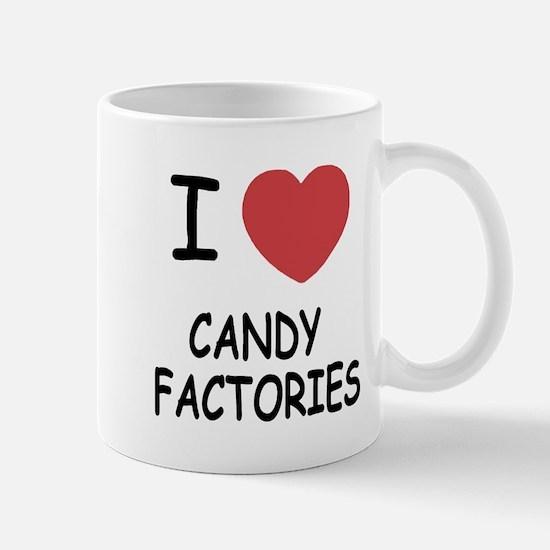I heart Candy Factories Mug