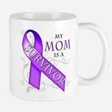 My Mom is a Survivor (purple).png Mug