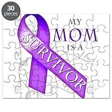 My Mom is a Survivor (purple).png Puzzle