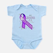 My Grandma is a Survivor (purple).png Infant Bodys