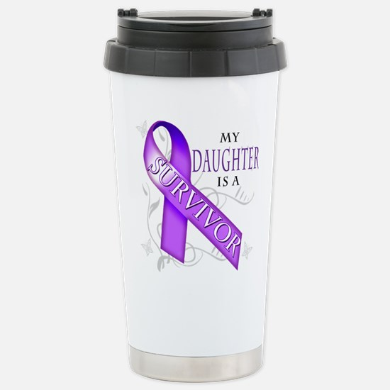 My Daughter is a Survivor (purple).png Stainless S