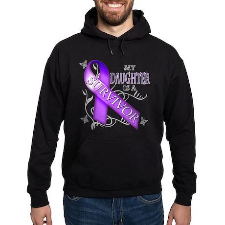 My Daughter is a Survivor (purple).png Hoodie (dar