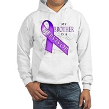 My Brother is a Survivor (purple).png Hoodie