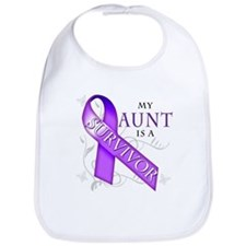My Aunt is a Survivor Bib