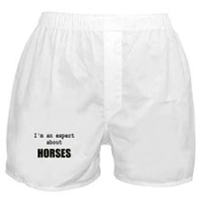 Im an expert about HORSES Boxer Shorts
