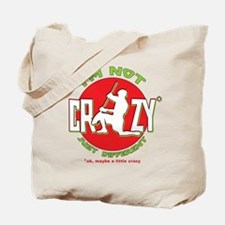 Im Not Crazy (lacrosse) Tote Bag