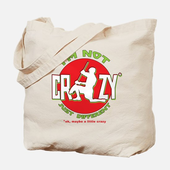 Im Not Crazy (lacrosse) Tote Bag
