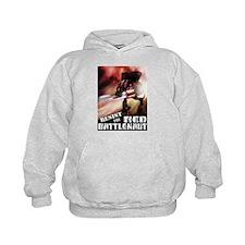 Red Battlenaut Image Cafe Press.jpg Hoodie