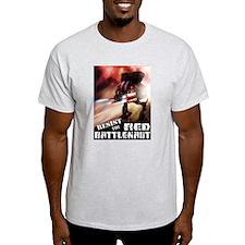 Red Battlenaut Image Cafe Press.jpg T-Shirt