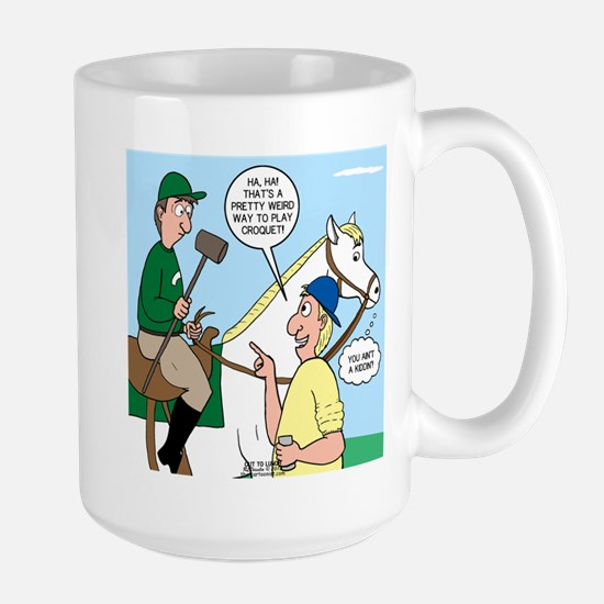 Polo Cartoon Large Mug