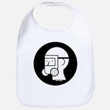 Gas Mask w/Eye Shield Bib