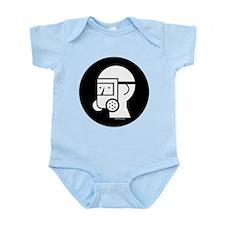 Gas Mask w/Eye Shield Infant Bodysuit