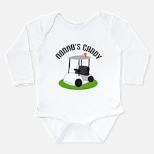 Nonno's Caddy Long Sleeve Infant Bodysuit