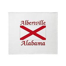 Albertville Alabama Throw Blanket