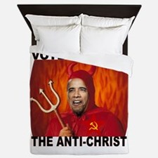 ANTI-OBAMA Queen Duvet