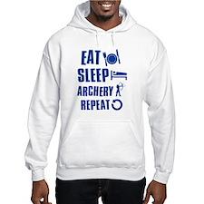 Eat Sleep Archery Hoodie Sweatshirt