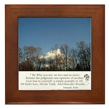 Heaven's Wonder Decorative Framed Tile