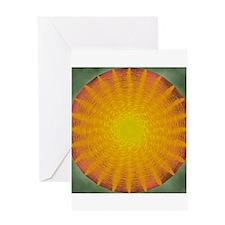 sun. Greeting Card