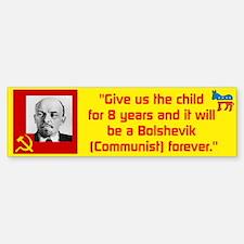Lenin/Bolshevik Bumper Bumper Sticker