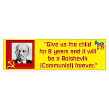 Lenin/Bolshevik Bumper Sticker