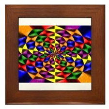 gay flower. Framed Tile
