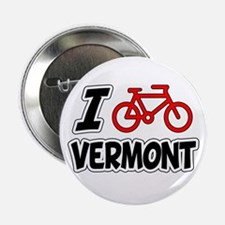 "I Love Cycling Vermont 2.25"" Button"