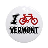 Cycle vermont Ornaments
