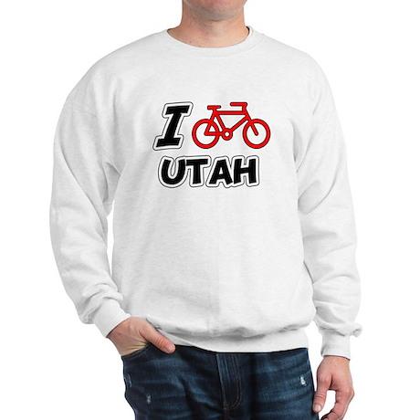 I Love Cycling Utah Sweatshirt