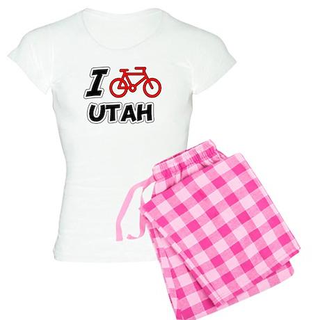 I Love Cycling Utah Women's Light Pajamas
