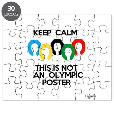 Not an Olympic Poster Puzzle