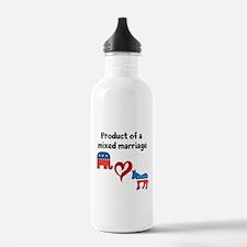 mixed politics Water Bottle
