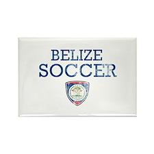 Belize Soccer Rectangle Magnet