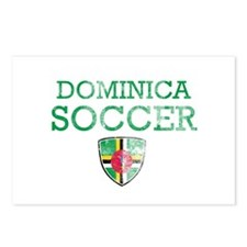 Dominica Soccer Postcards (Package of 8)