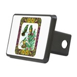 Buff Bellied Hummingbirds Rectangular Hitch Cover