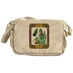 Buff Bellied Hummingbirds Messenger Bag