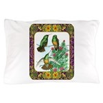 Buff Bellied Hummingbirds Pillow Case