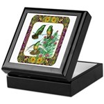 Buff Bellied Hummingbirds Keepsake Box