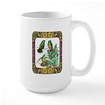 Buff Bellied Hummingbirds Large Mug