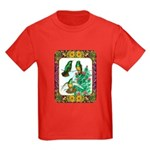 Buff Bellied Hummingbirds Kids Dark T-Shirt