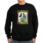 Buff Bellied Hummingbirds Sweatshirt (dark)