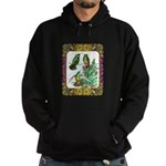 Buff Bellied Hummingbirds Hoodie (dark)