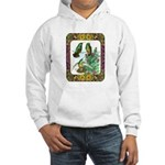 Buff Bellied Hummingbirds Hooded Sweatshirt