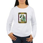Buff Bellied Hummingbirds Women's Long Sleeve T-Sh