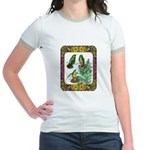 Buff Bellied Hummingbirds Jr. Ringer T-Shirt