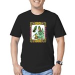 Buff Bellied Hummingbirds Men's Fitted T-Shirt (da