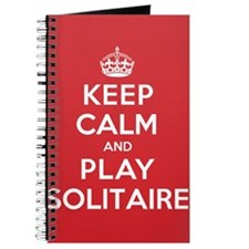 Keep Calm Play Solitaire Journal