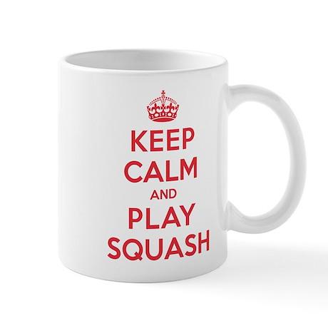 Keep Calm Play Squash Mug
