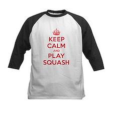 Keep Calm Play Squash Tee